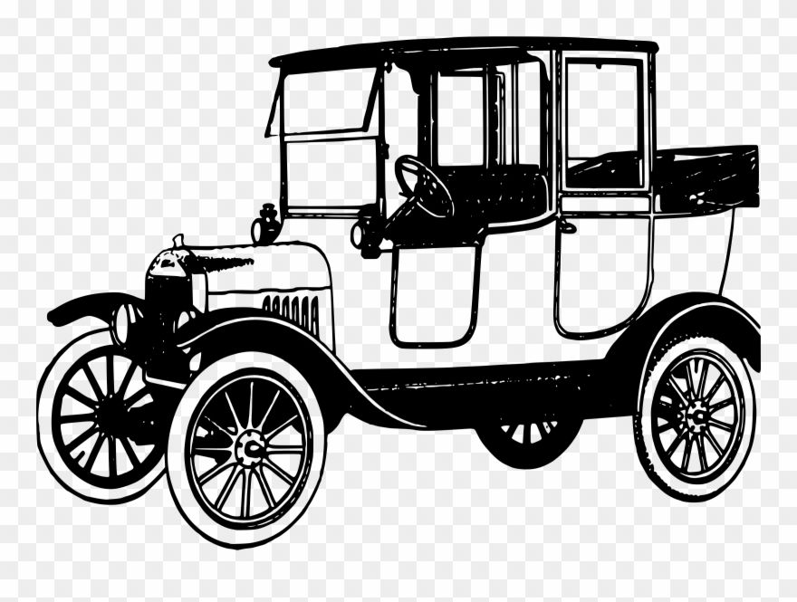 banner freeuse download Classic clipart old fashion. Truck fashioned model t.