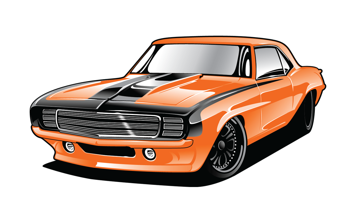 clipart black and white download  chevrolet camaro pontiac. Corvette stingray clipart.