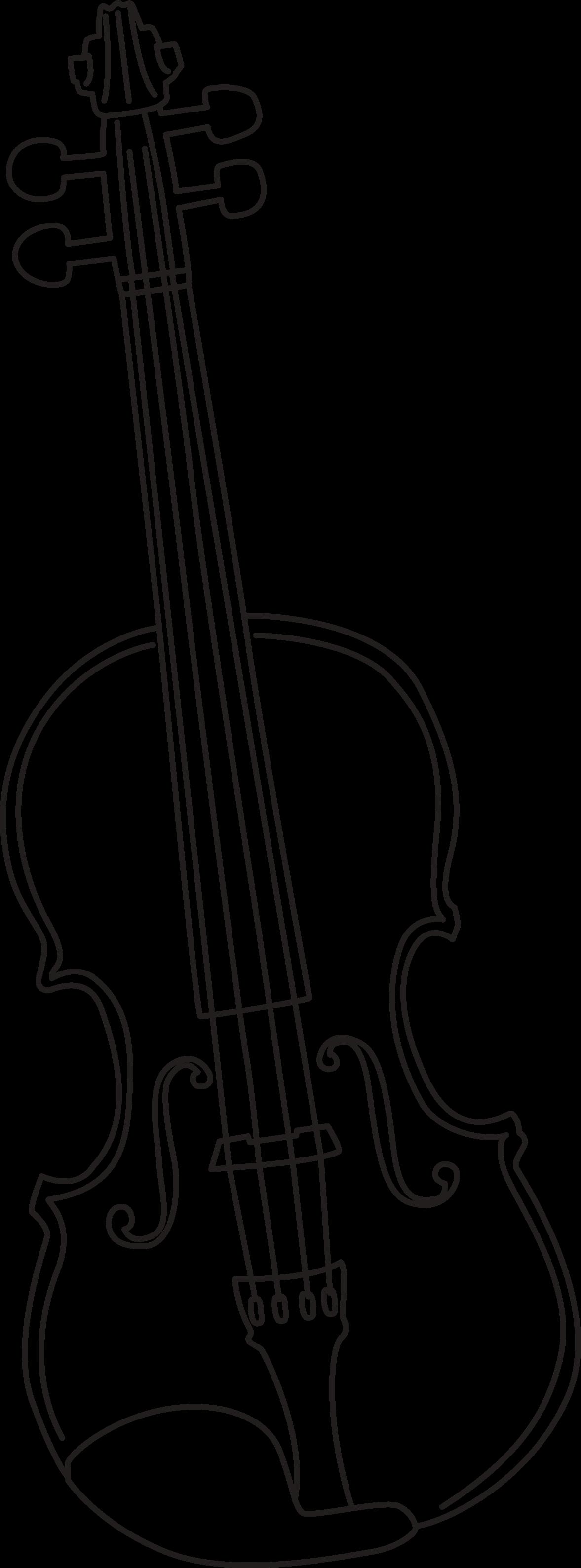 clip library library Simple Violin Drawing at GetDrawings