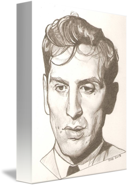 png free Drawing portrait nose. Bobby fischer by rob
