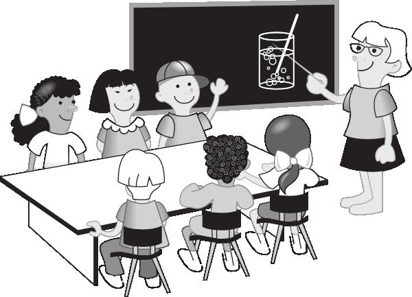svg library stock Teacher classroom clip art. Chemistry class clipart.