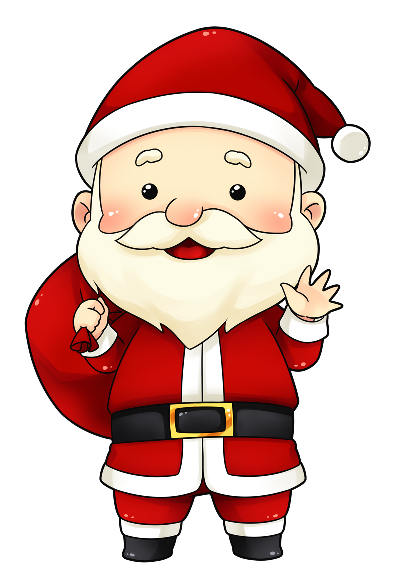image black and white download Santa clipart. You can use this.