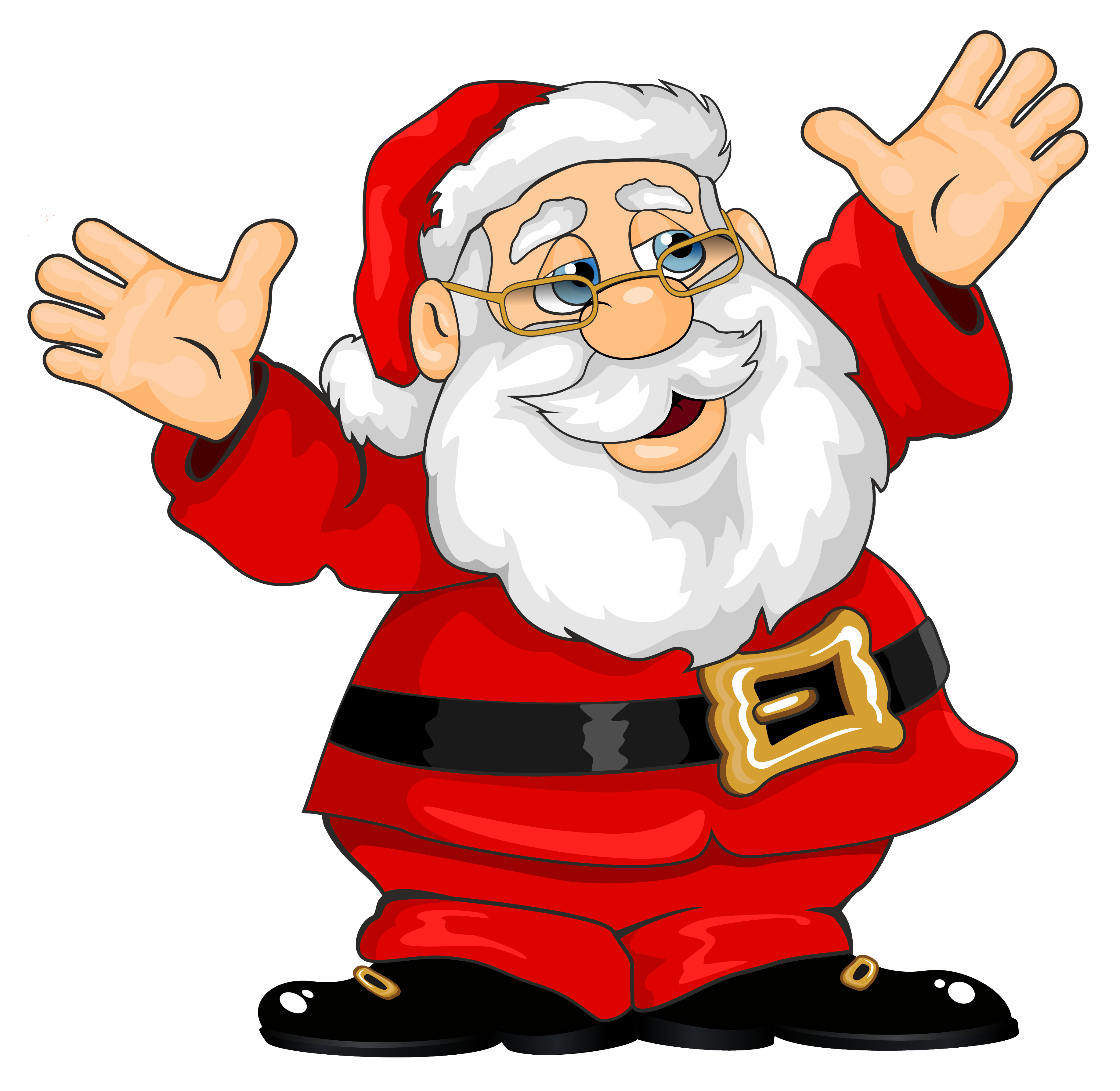 clip freeuse download Fun santa . Claus clipart.