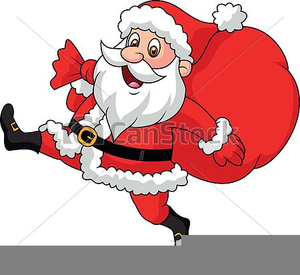 black and white stock Free animated santa images. Claus clipart cartoon.