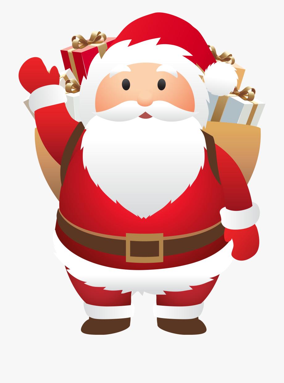png transparent library Claus clipart cute. Santa png image transparent.