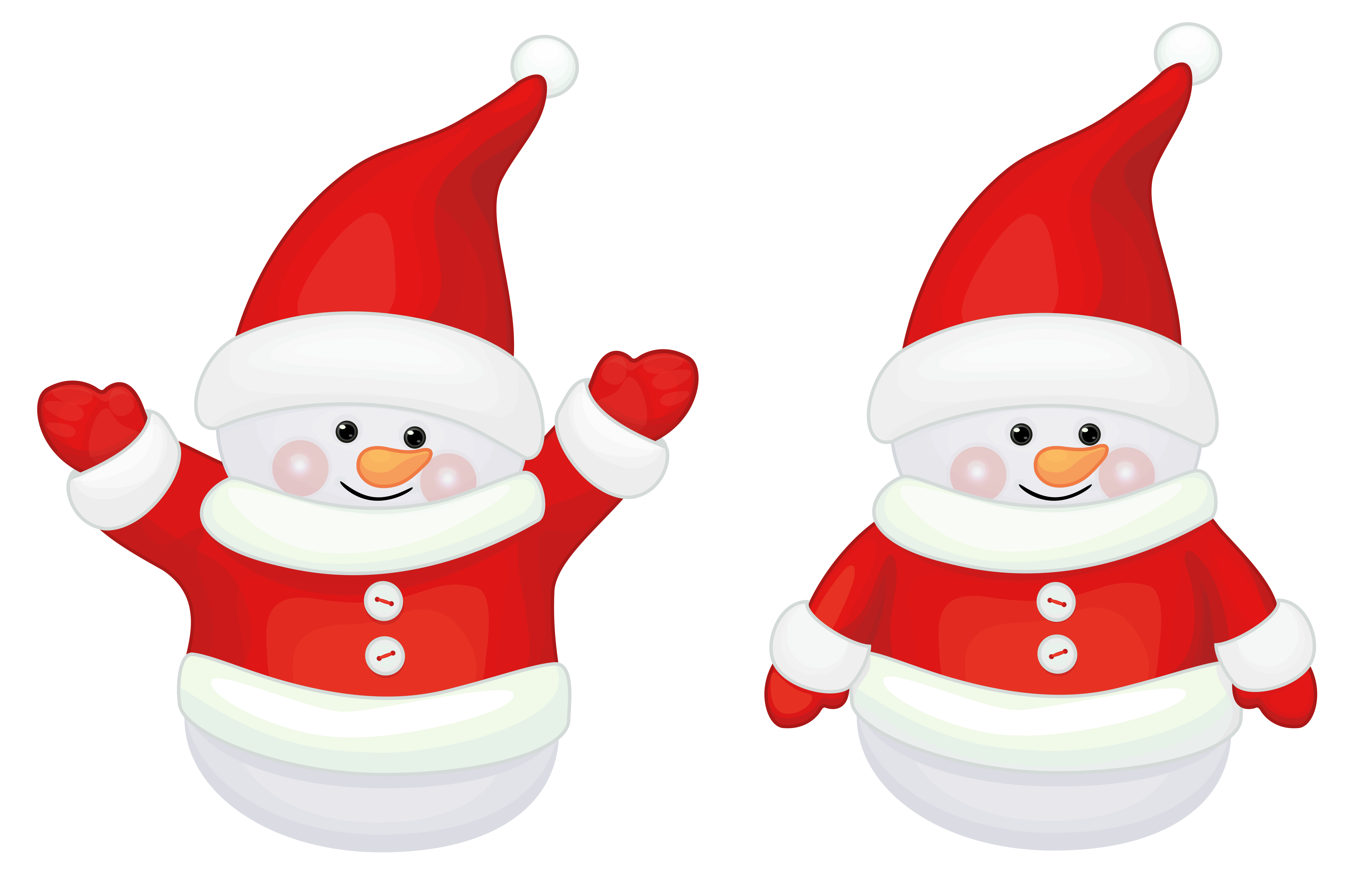 clip art royalty free stock Claus clipart cute. Transparent red santa decor.