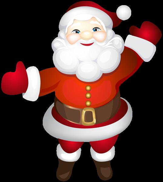 clip royalty free stock Santa transparent png clip. Claus clipart cute.