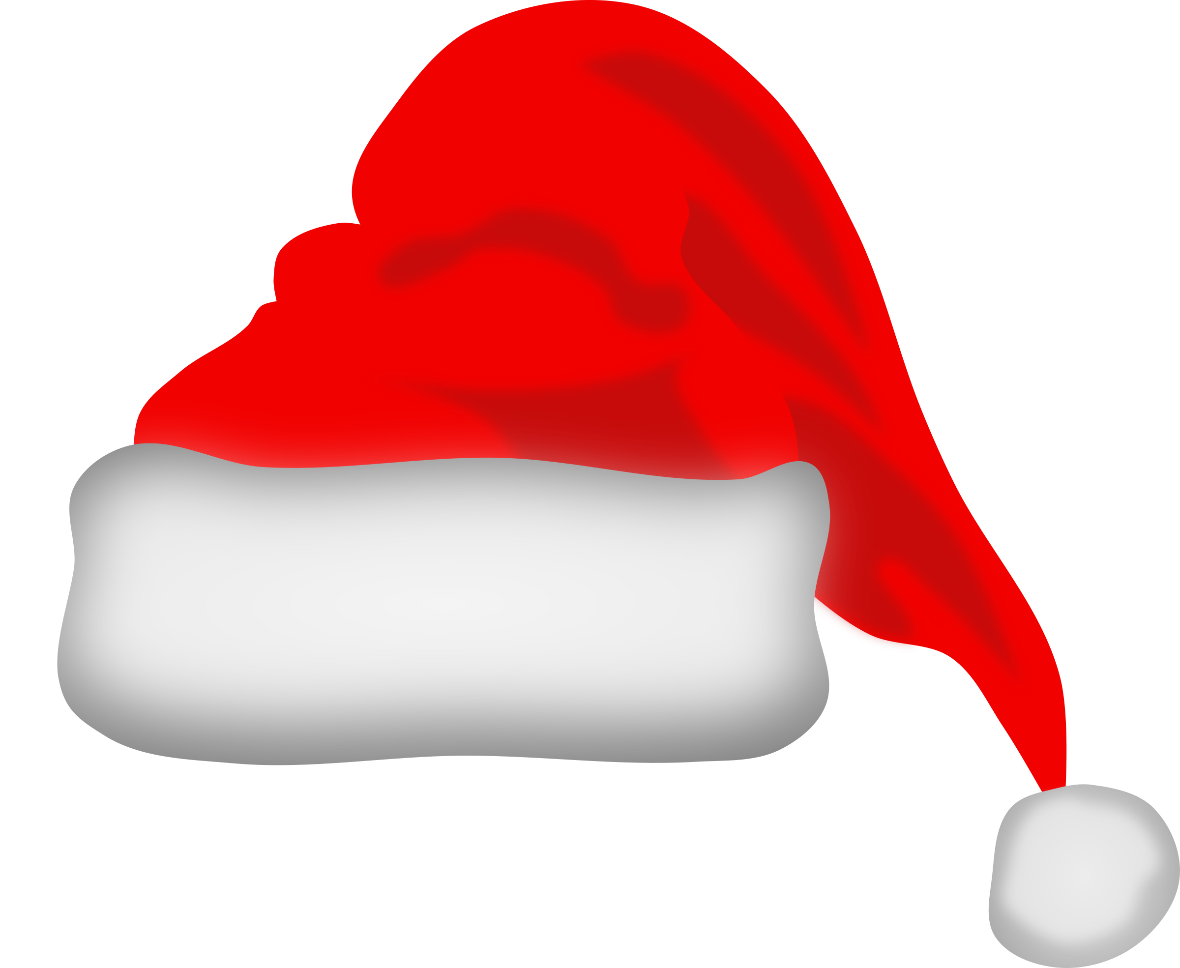clip art black and white Beard clipart file. Santa claus hat big