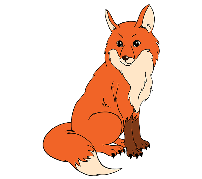 banner freeuse library How to Draw a Fox in a Few Easy Steps