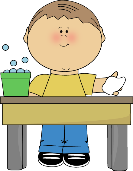image library library Cleaning table clipart