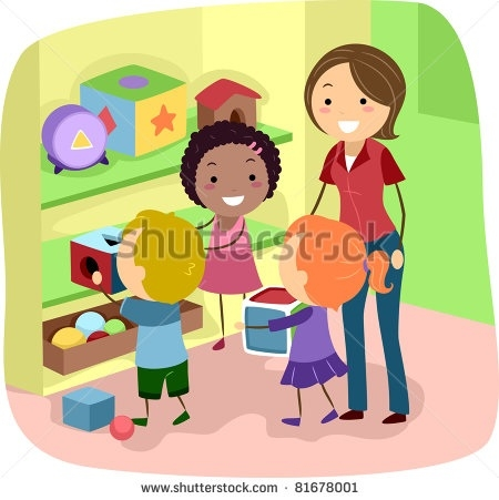 clip Within kids cleaning . Clean up classroom clipart.