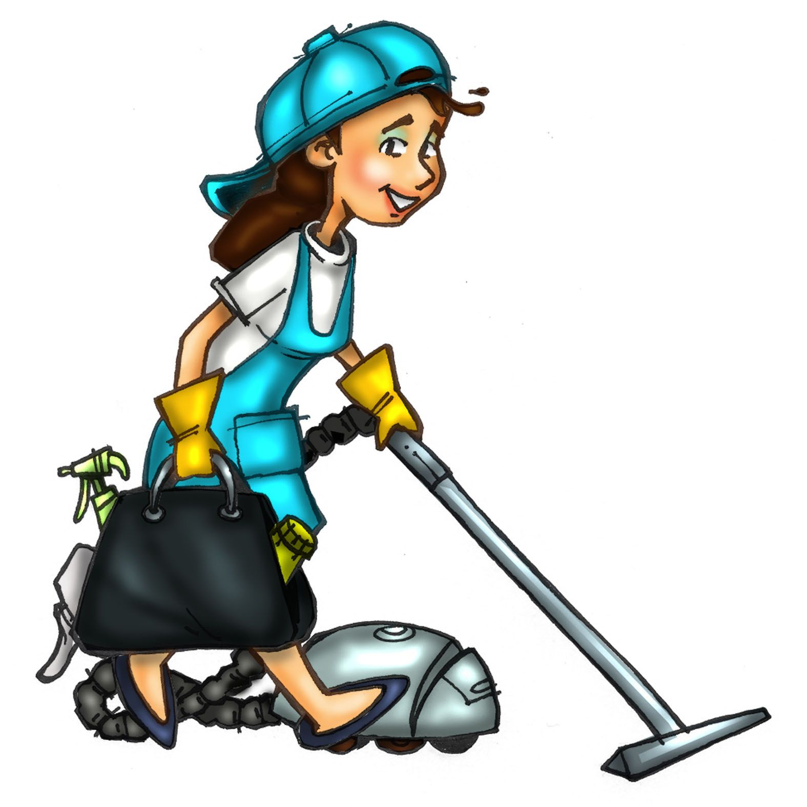 clip art free download Cleaner clipart. Pictures of maids cleaning