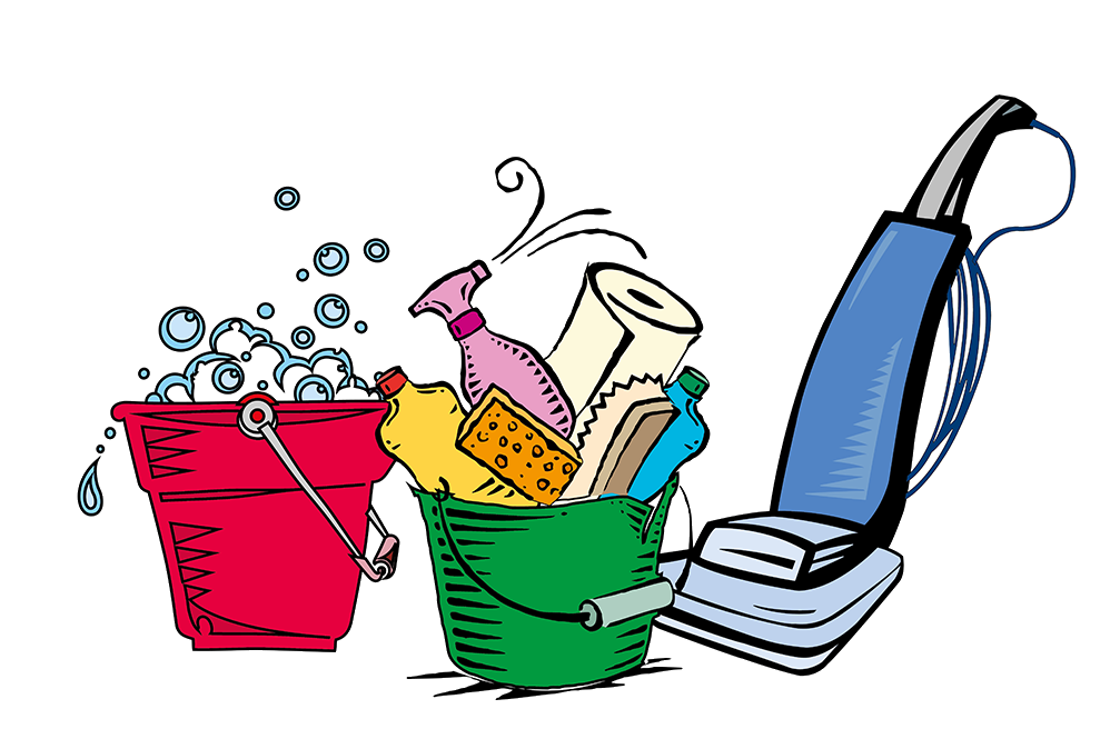 freeuse cleaning bucket clipart #60146405