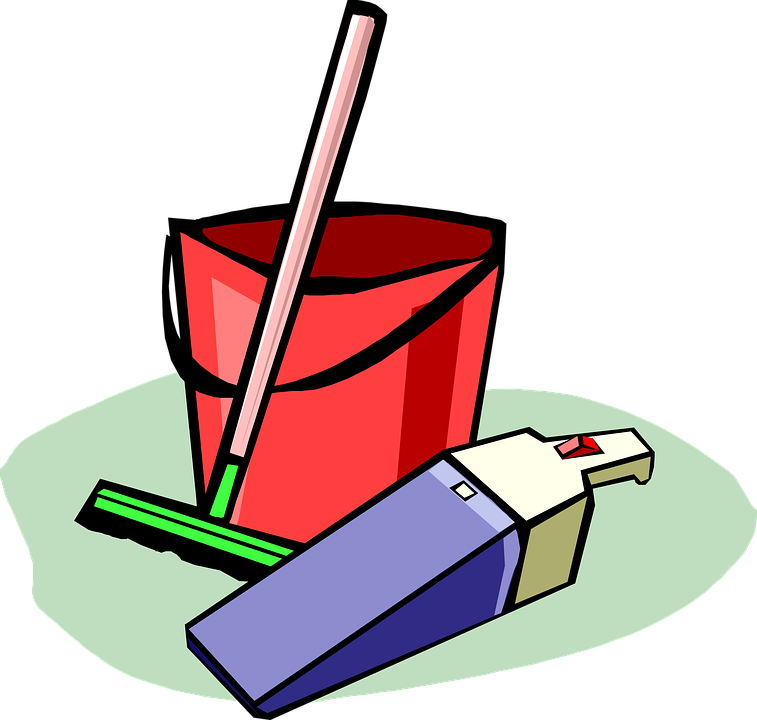 vector Cleaner clipart daily cleaner. The benefits of cleaning.