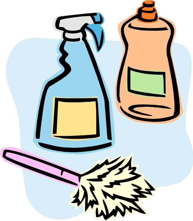 black and white download Cleaner clipart household cleaning item. Clean house drawing free.