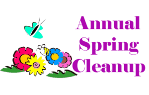 jpg library download Clean up may town. Cleaner clipart spring.