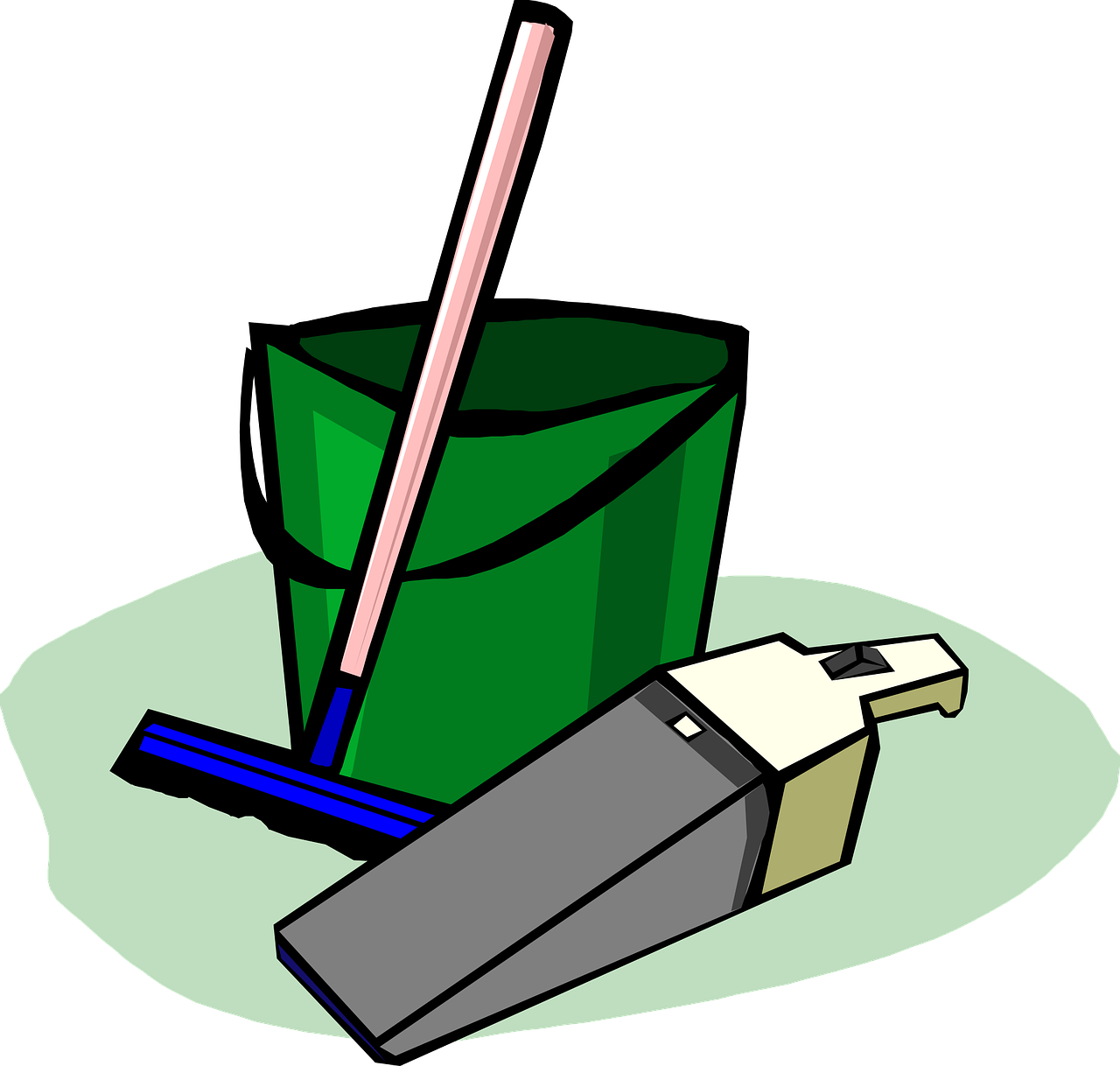 clipart freeuse stock spring cleaning
