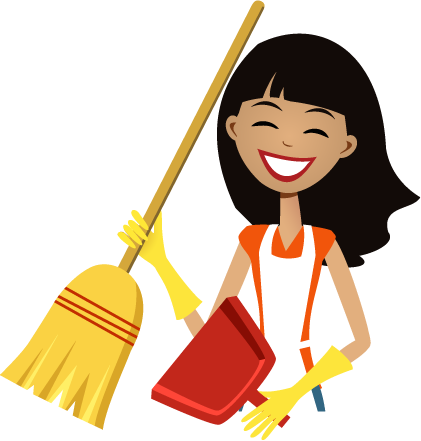 clip free library Cleaning clipart housekeeper. House cleaner physic minimalistics.