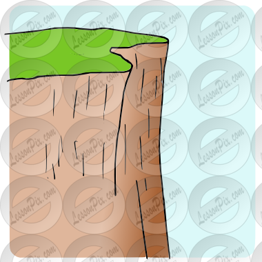 clip black and white Cliff clipart. Picture for classroom therapy