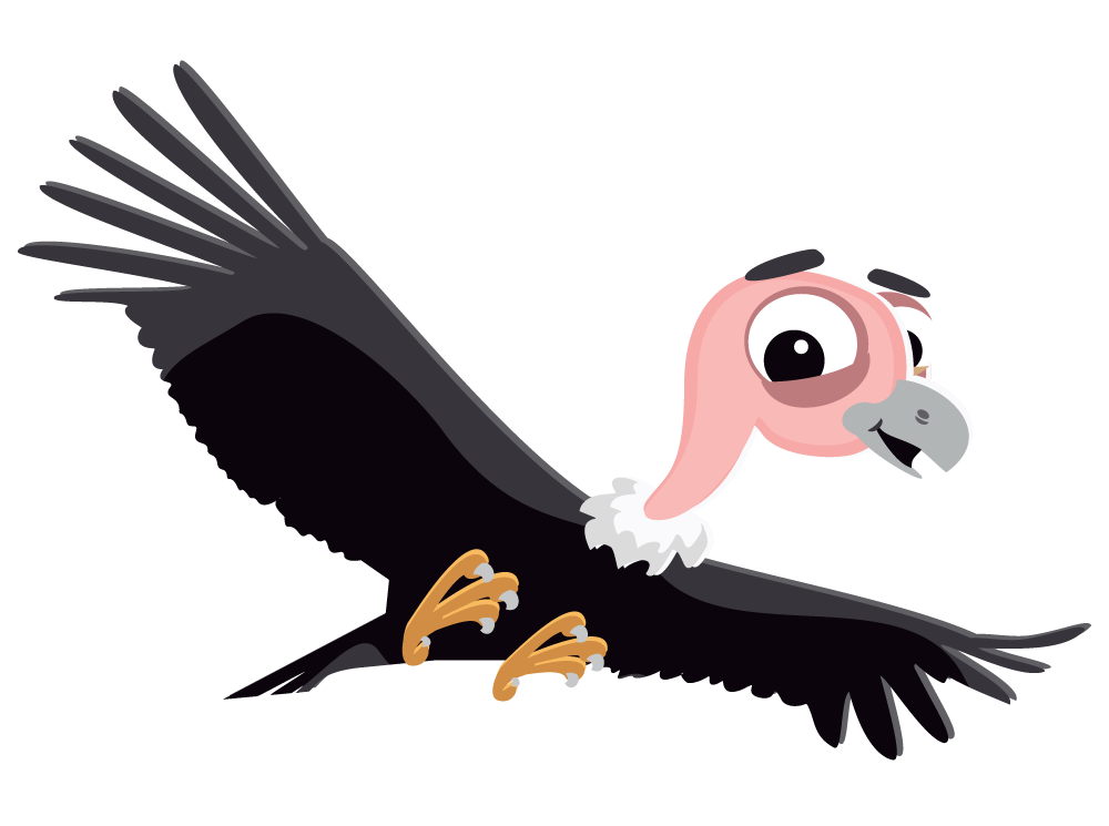 clip royalty free stock Cliff clipart animated. Vulture free on dumielauxepices.
