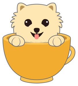 picture freeuse Cliff clipart animated. Pomeranian transparent free on.
