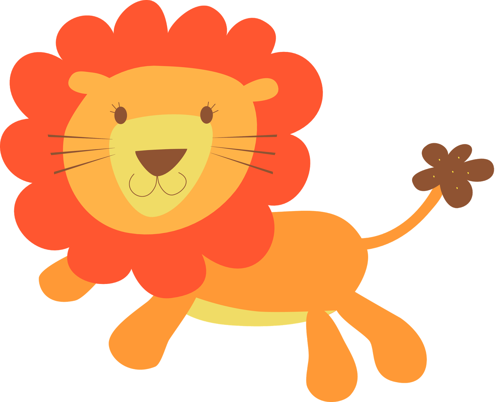 clip royalty free stock Lion and lamb at. Cliff clipart animated.