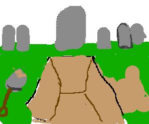 image transparent Gravestone clipart open grave. Free on dumielauxepices net