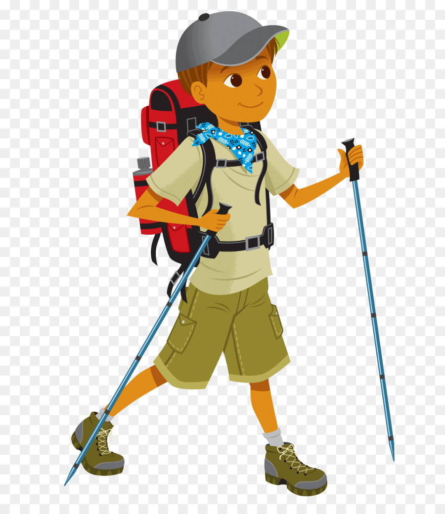 clip art freeuse library Climber clipart. Mountain cartoon climbing illustration.
