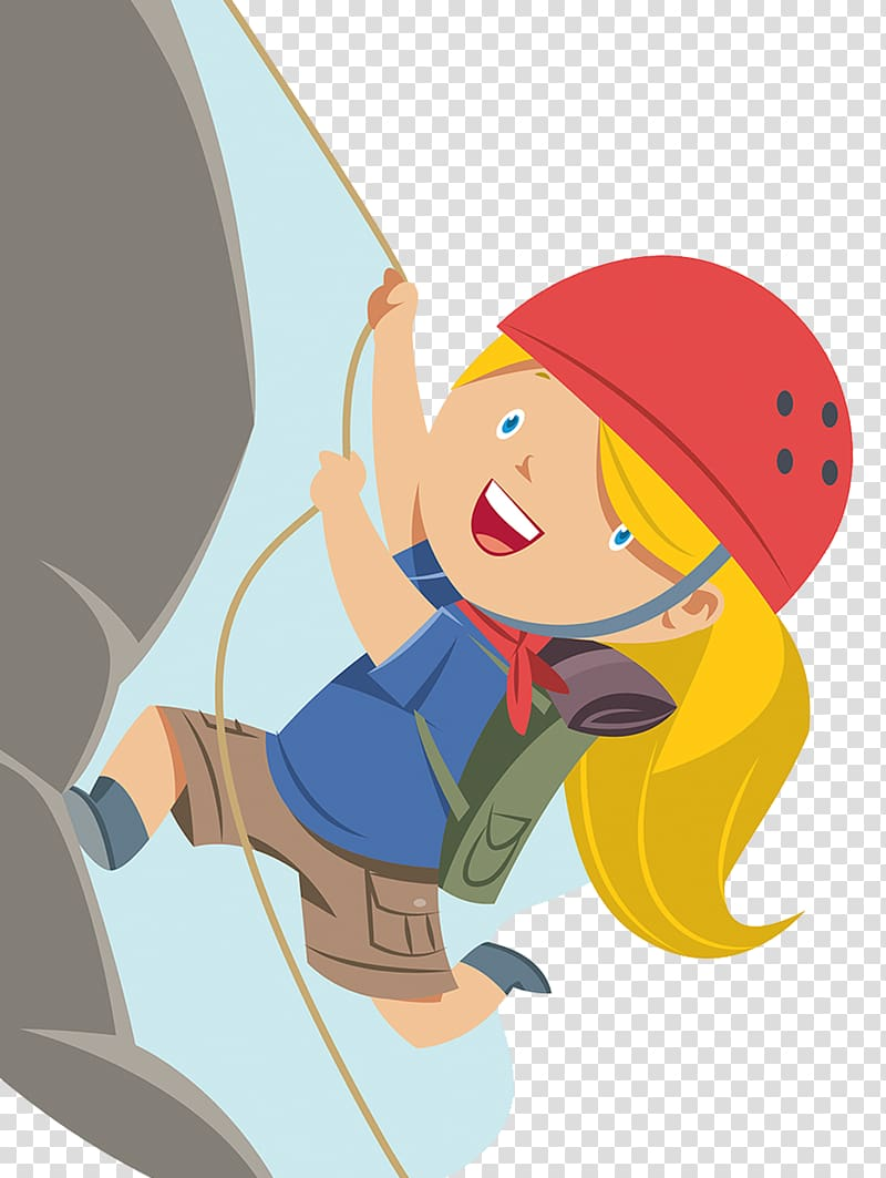 png black and white stock Female rock climbing mountain. Climber clipart.