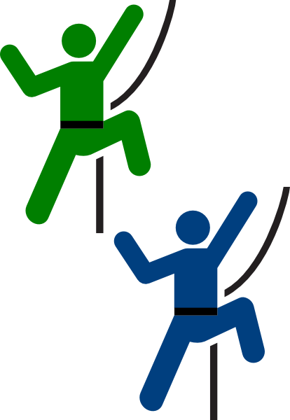 vector freeuse download Clip art at clker. Climber clipart.