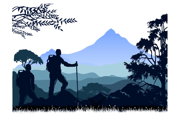 clip library download Mountaineering euclidean vector rock. Climber clipart backpacker.