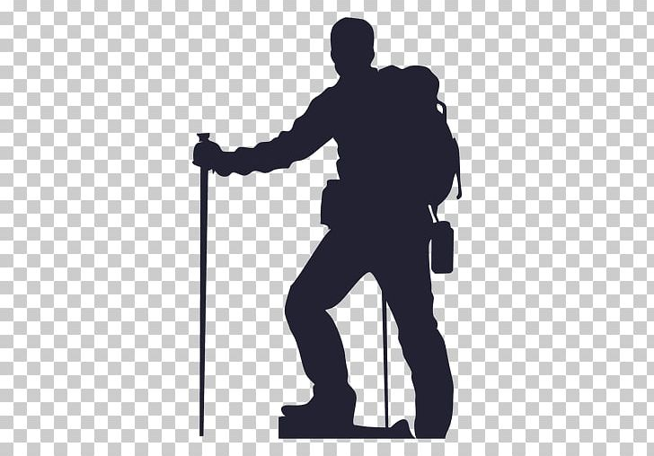image freeuse stock Hiking silhouette backpacking png. Climber clipart backpacker.