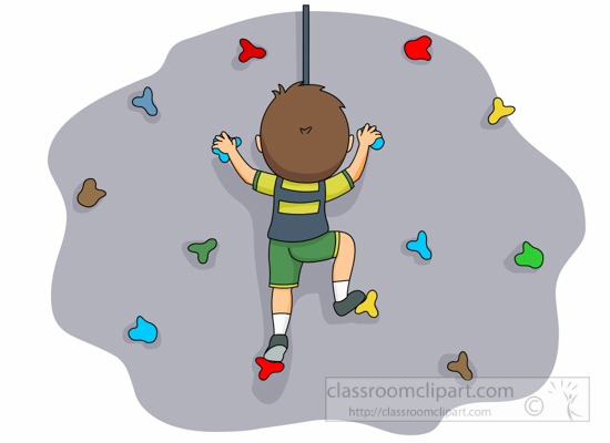 download Free rockwall climbing cliparts. Climber clipart child.