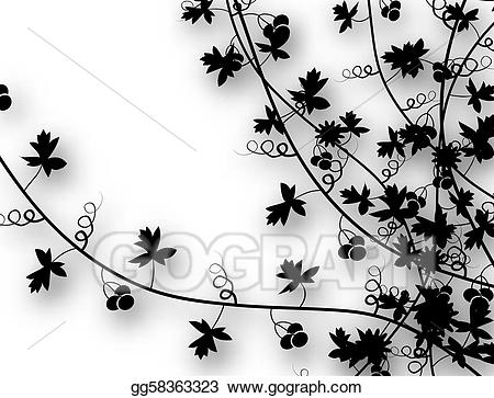 clipart free Vector stock climbing vines. Climber clipart leaf.