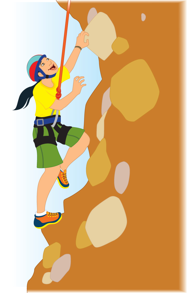 graphic black and white download Climber clipart rock climbing. Image
