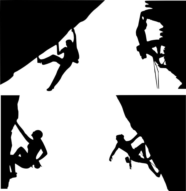 svg royalty free download Climber clipart rock climbing. Clip art