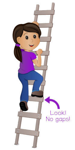 clipart freeuse download Climbing ladder clipart.  collection of child