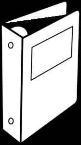 svg freeuse stock Binder clipart. Clip art graphics pinterest.