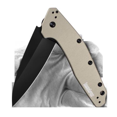 svg transparent library Kershaw Dividend Tan Folding Pocket Knife