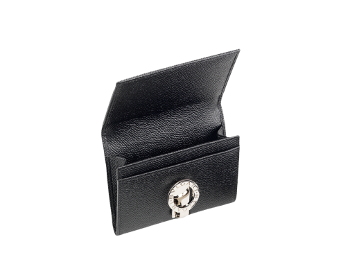 royalty free BVLGARI BVLGARI Leather Business Card Holder