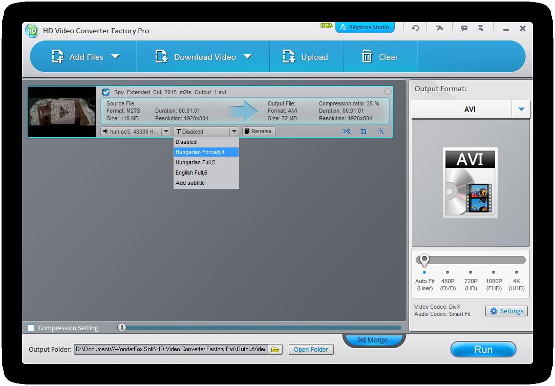 download Wonderfox very h to. Clip comverter thumbnail
