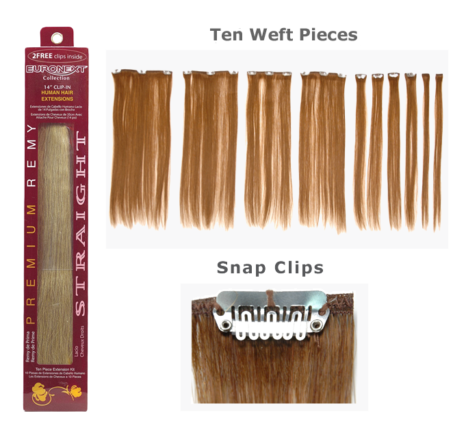 png freeuse Hair in human remy. Clip extensions