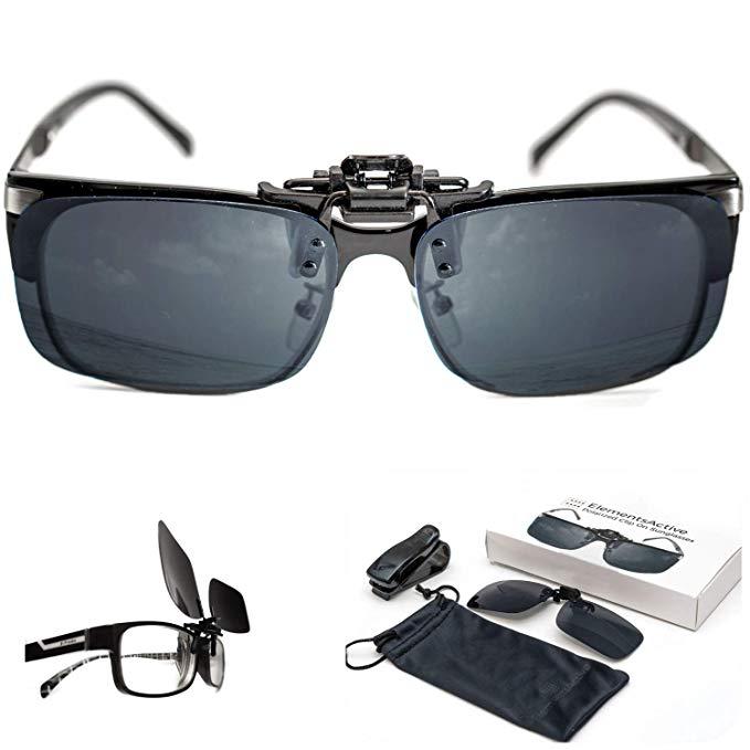 jpg Clip glasses. Polarized on driving sunglasses