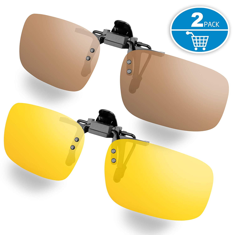 picture stock Splaks on sunglasses unisex. Clip glasses
