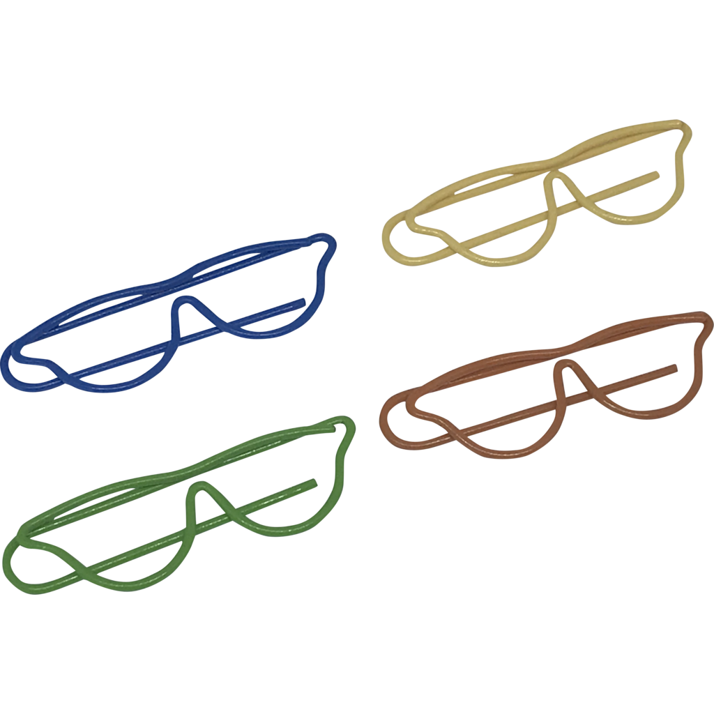 jpg library download Paper clips glasses gifteyedeas. V clip shaped
