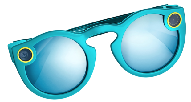 vector black and white library Snapchat Spectacles