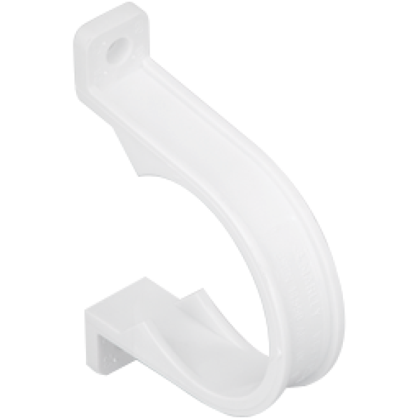 svg library stock Marley ABS Saddle Pipe Clip White