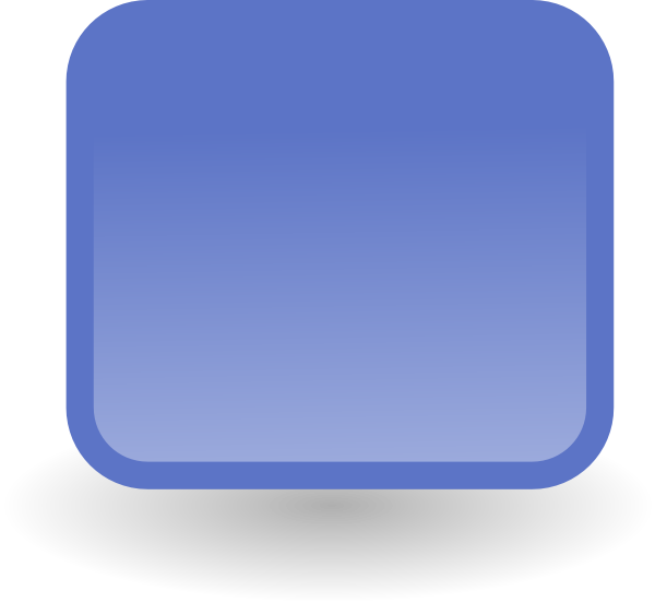 jpg free stock Blue button clip art. Vector buttons square