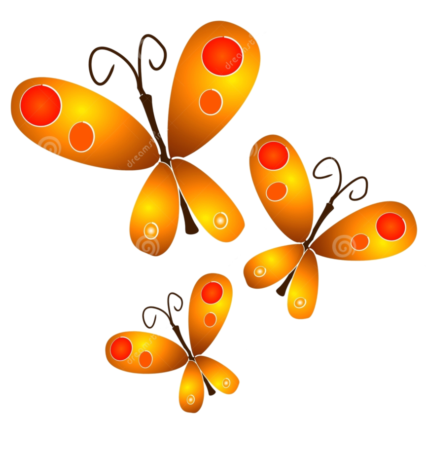 royalty free Butterflies png by hanabell. Clip jam gold butterfly.