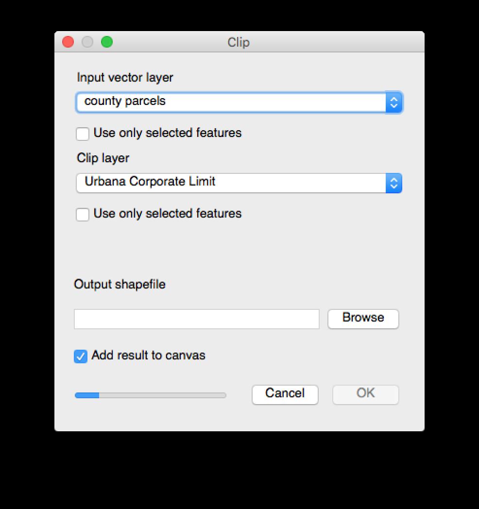 image freeuse Clip layer. Mac error with qgis